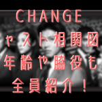 CHANGE キャスト相関図! 年齢や脇役も 全員紹介!