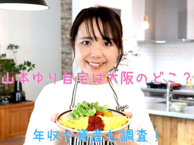 山本ゆり自宅は大阪のどこ?年収や資産も調査!