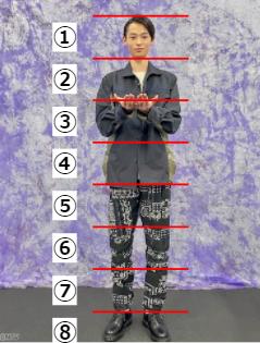 窪塚愛流の顔の大きさ測定してみた!何頭身か画像で徹底検証
